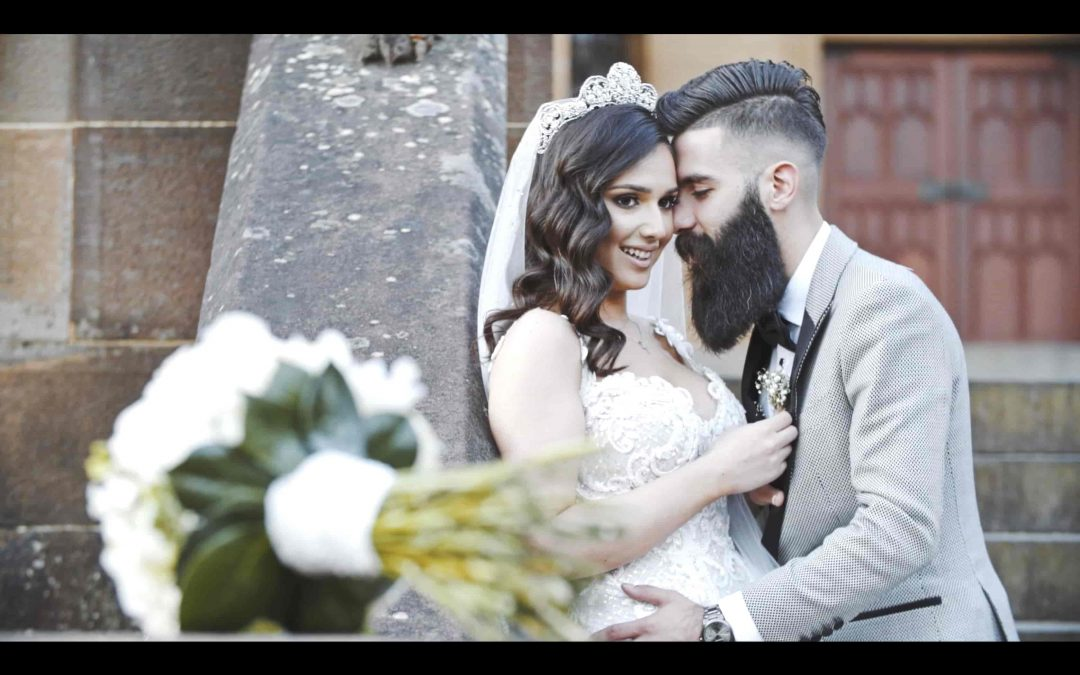 Two beards, a barista and a Wedding video